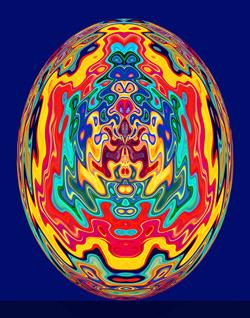 Clown in Easter Egg