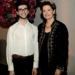 2019 RCM Scholarship winner Artur Chakhmakhchyan with Foundation director Catherine Hurley