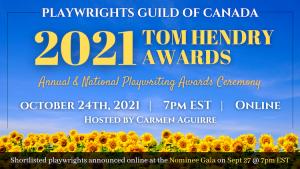 2021 Tom Hendry Awards
